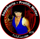 #178 - Sappharia - Prolific Writer