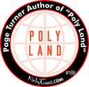 #189 - Page Turner Author of Poly Land