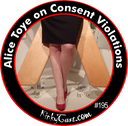 #195 - Alice Toye on Consent Violation and Personal Responsibility